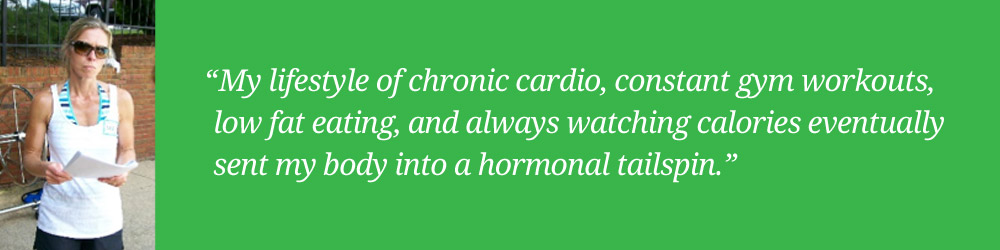 lisa hisscock health coach on chronic cardio